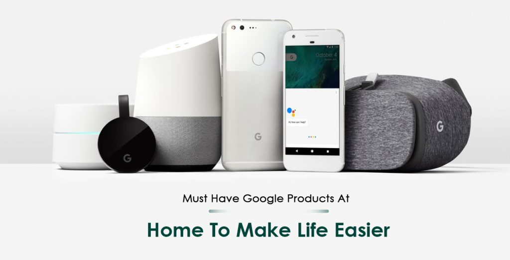 Google Products for Home