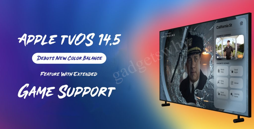Apple tvOS 14.5 Debuts New Color Balance Feature