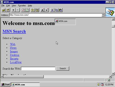 Internet Explorer History