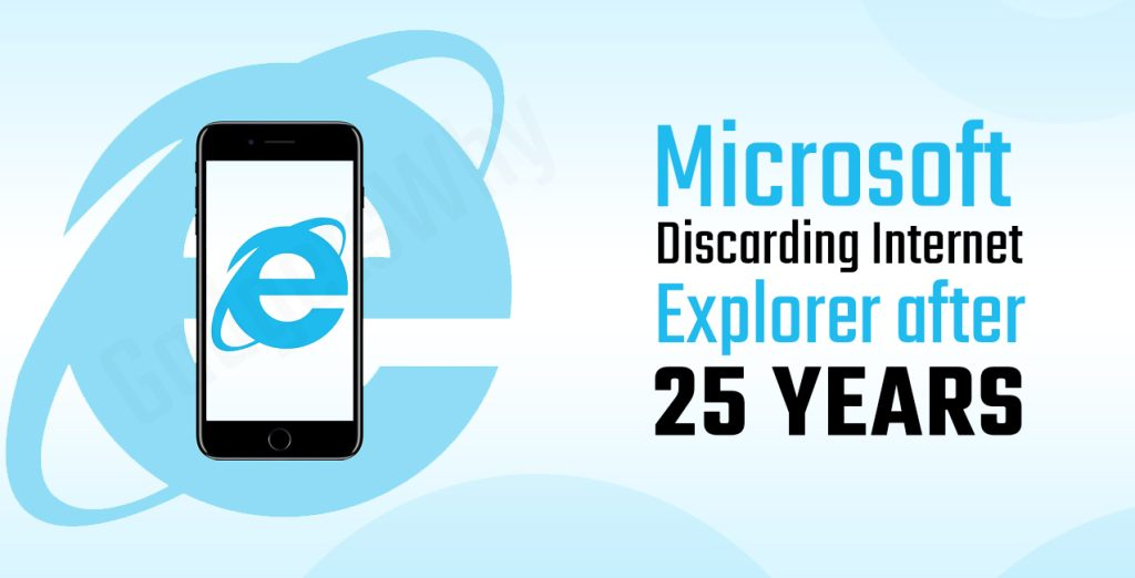 Internet Explorer discarded after 25 years