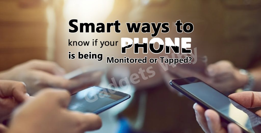 Signs of phone tapping