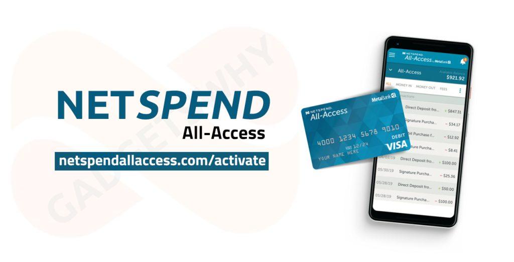 netspendallaccess.com/activate