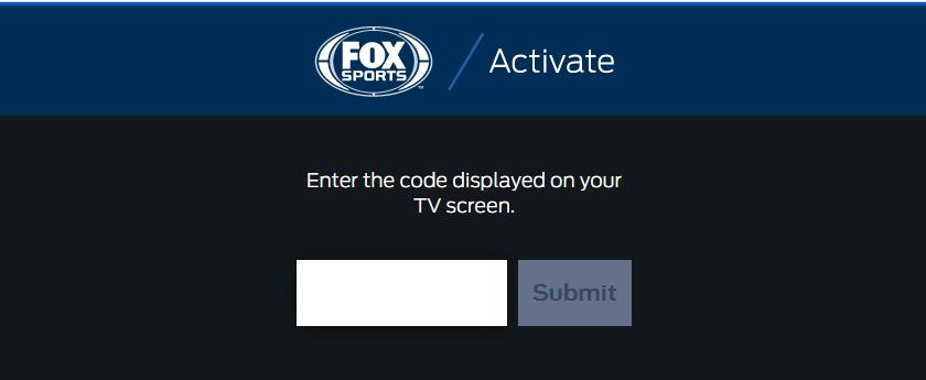 activate fox sports com